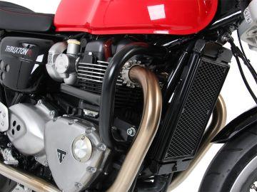 Protector de motor negro Hepco&Becker