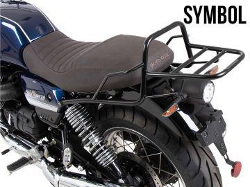 Soporte baúl moto tubular...