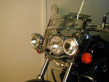 Faro doble para Honda VT...
