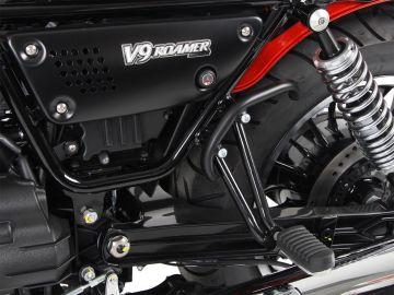 Soporte de fijación color Negro para protector de tanque para Moto Guzzi V 7 III Carbon/Milano/Rough (2018-)