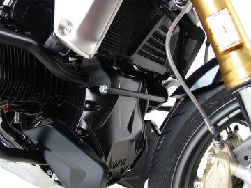 Soporte de fijación color Negro para protector de motor para BMW R 1250 R (2019-)