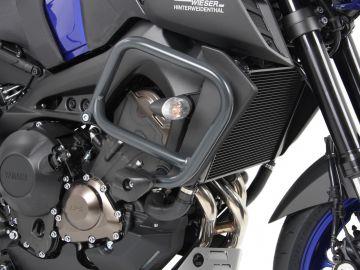 Barra de protección de motor con cojín de protección color Antracita para Yamaha MT-09 SP (2018-)