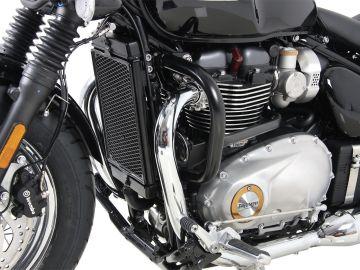 Barra de protección de motor color Negro para Triumph Bonneville Speedmaster (2018-)