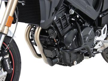 Barra de protección del motor colo negro para BMW F 800 R (2015-)