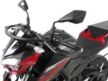 Barra de protección frontal superior color Negro para Kawasaki Z 400 (2019-)