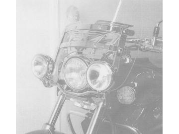 Set de Bifaro Estándar Honda VT 750 D2 Black Widow - Cromo