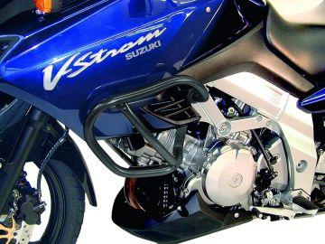 Defensas de Depósito Motor en Negro para Suzuki DL 1000 V-Strom