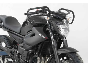Defensas de Manillar en Negro Especiales para Autoescuela para Yamaha XJ 6 Diversion