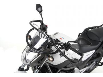 Defensas de Manillar en Negro Especiales  para  Autoescuela para Honda NC 700 S