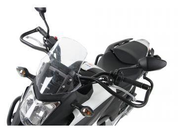 Defensas de Manillar en Negro Especiales  para  Autoescuela para Honda NC 700 X