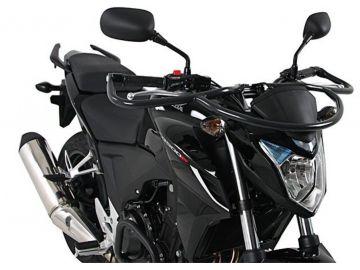 Defensas de Manillar en Antracita Especiales  para  Autoescuela para Honda CB500F