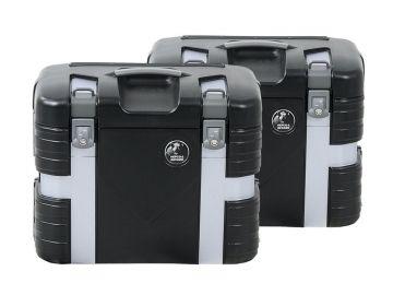 Set de Maletas Laterales Gobi NEGRO Black Edition (Derecha e Izquierda) 37L