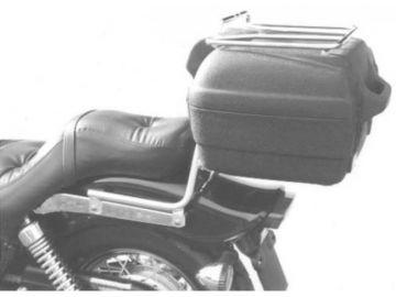 Respaldo con Portaequipajes Kawasaki EN 500 desde año1996 - Cromo