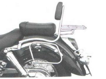 Soporte para bolsas Honda VT 750 C2 desde año 1997 - Cromo