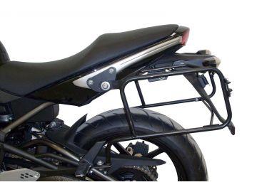 Soprte (lock it) de maletas lateralesen negro para Kawasaki ER-6n / 6f Bj. 2009-2011