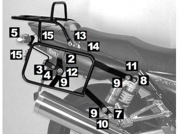 Portaequipajes Completo Lock it Yamaha XJR 1300 desde año2004 - 2006 - Negro