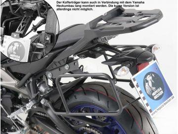Soporte (lock it) de maletas laterales sólo en combinación con portaequipajes originales para Yamaha MT-09 desde 2013