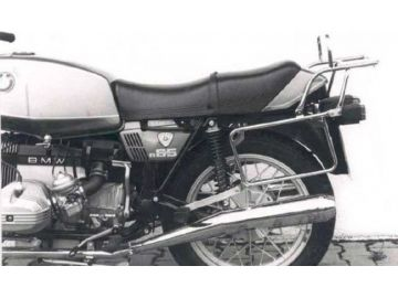 Portaequipajes Completo 2 suspensiones BMW   R 45 hasta año 1985 - Negro
