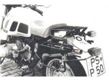 Soporte lateral de maletas BMW   R 80 GS Paris-Dakar hasta año1988 - Negro