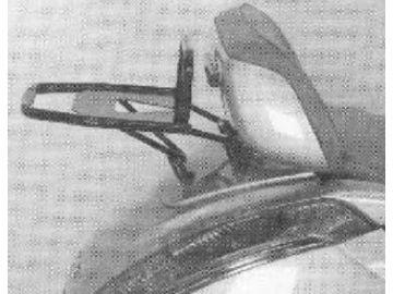 Portaequipajes Aprilia Atlantic 500  hasta año2005 - Plata