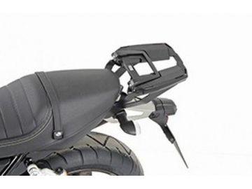 "Soporte ligero Top Case en negro  \""Easyrack\"" para YamahaXJR 1300"