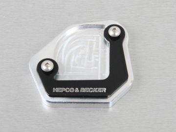 Ampliación de la base del caballete lateral para BMW F 650Gs desde 2008 de Hepco&Becker