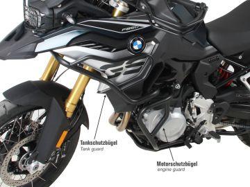 Protección motor en negro...