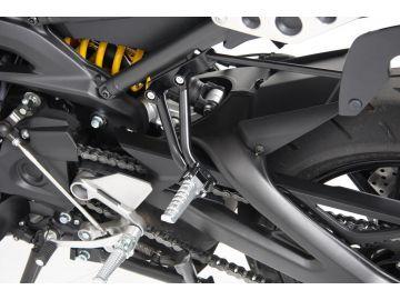 Kit de reducción de altura para los reposapiés del pasajero para Yamaha XRS 900 de 2016 de Hepco&Becker