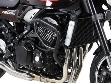 Protector del motor en negro para Kawasaki Z 900 RS / Cafe 2018 de Hepco&