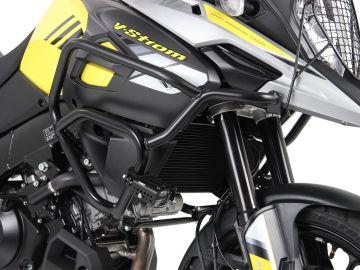 Protector de depósito Hepco&Becker para Suzuki V-Strom 1000 ABS desde 2017 . Acero inox.