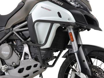 Defensas de depósito en color Negro para Ducati Mulsitrada 1200 enduro desde 2016 de Hepco&Becker