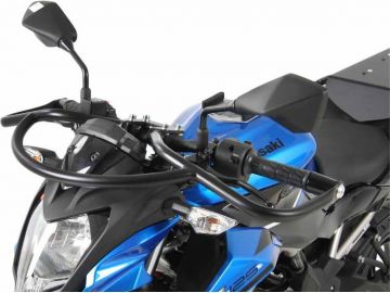 Estribo de protección frontal color negro para KAWASAKI Z 125 de 2018