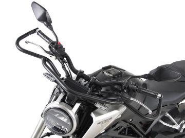 Barra de protección delantera superior negro para Honda CB 125 R 2018