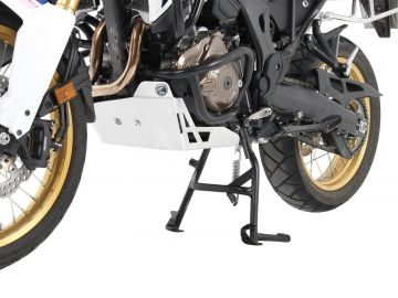 Soporte central en negro para Honda África Twin Adventure Sports CRF1000L