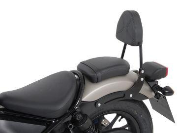 Barra de sissybar sin rearrack, negro para Honda CMX500 Rebel desde 2017