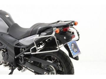 Sistema de maletas CUTOUT Xplorer PLATA para Suzuki V-Strom 650 ABS desde 2012