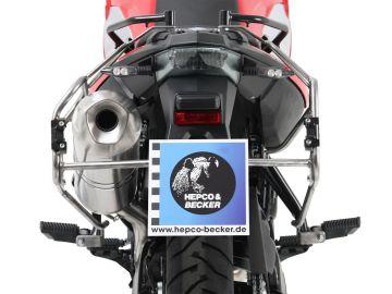 Sistema de Maletas Cutout Explorer Negro para BMW F800 GS de Hepco&Becker
