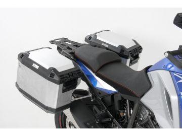 Portamaletas Cutout para maletas Xplorer (maletas NO incluidas) para KTM 1050/1190 Adventure / R de Hepco&Becker