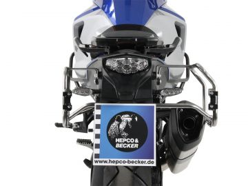 Portamaletas Cutout para maletas Xplorer (maletas NO incluidas) para KTM 1290 Super Adventure desde 2014 de Hepco&Becker