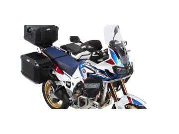 Sistema de maletas Xplorer Cutout en NEGRO para Honda CRF1000L Africa Twin Adventure Sports de 2018 e Hepco&Becker