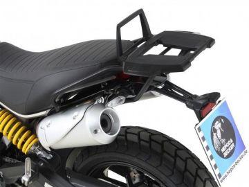 Portaequipajes Alurack negro para Ducati Scrambler 1100 de 2018