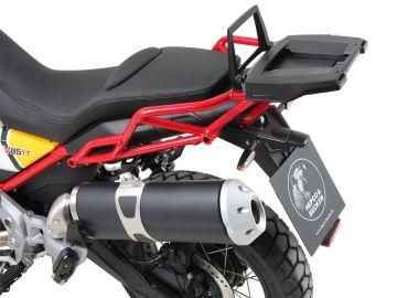 Portaequipajes Alurack negro para Moto Guzzi V85 TT (2019-)