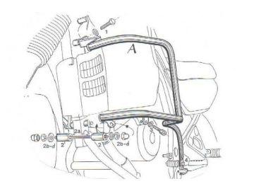 Defensa motor Honda XL 600...