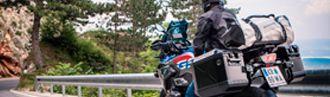 Bolsa trasera moto