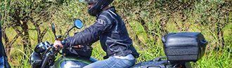Baúl moto plástico